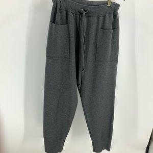 Zara knit  charcoal gray jogger pants  XL